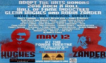 Glenn Hughes and Robin Zander w/Special Guests @ Fonda Theatre 5/12