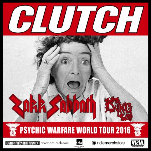 CLUTCH Announce Late 2015 Dates With CROBOT, VALKYRIE - Metal ...