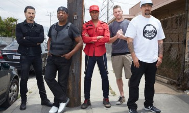 Prophets of Rage Hold Protest Demonstration Show At The Republican National Convention
