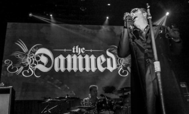 Photos: The Damned Perform A Unique 40th Anniversary Retrospective at The Belasco Theater in Los Angeles