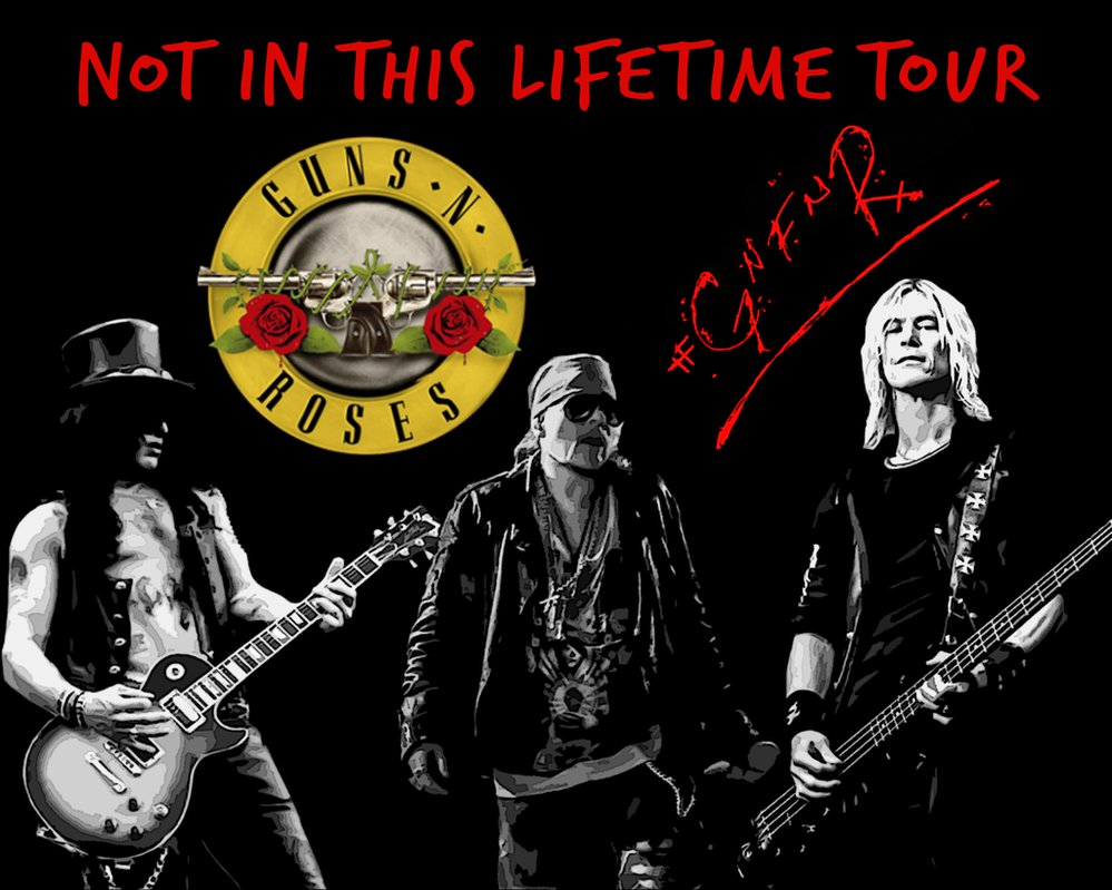 Guns n roses tour review
