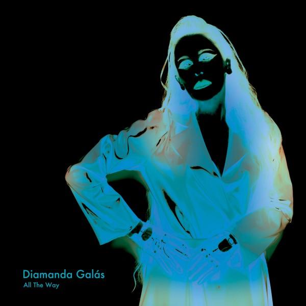 Diamanda GALAS  album cover art- ALL THE WAY