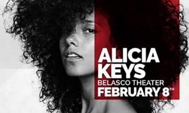 Alicia Keys @ The Belasco Theater 2/8
