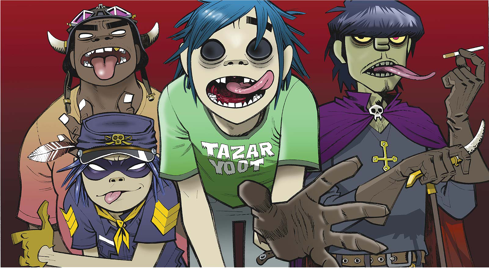 """WATCH: Gorillaz Release Video for First New Song in Six Years """"Hallelujah Money"""""""