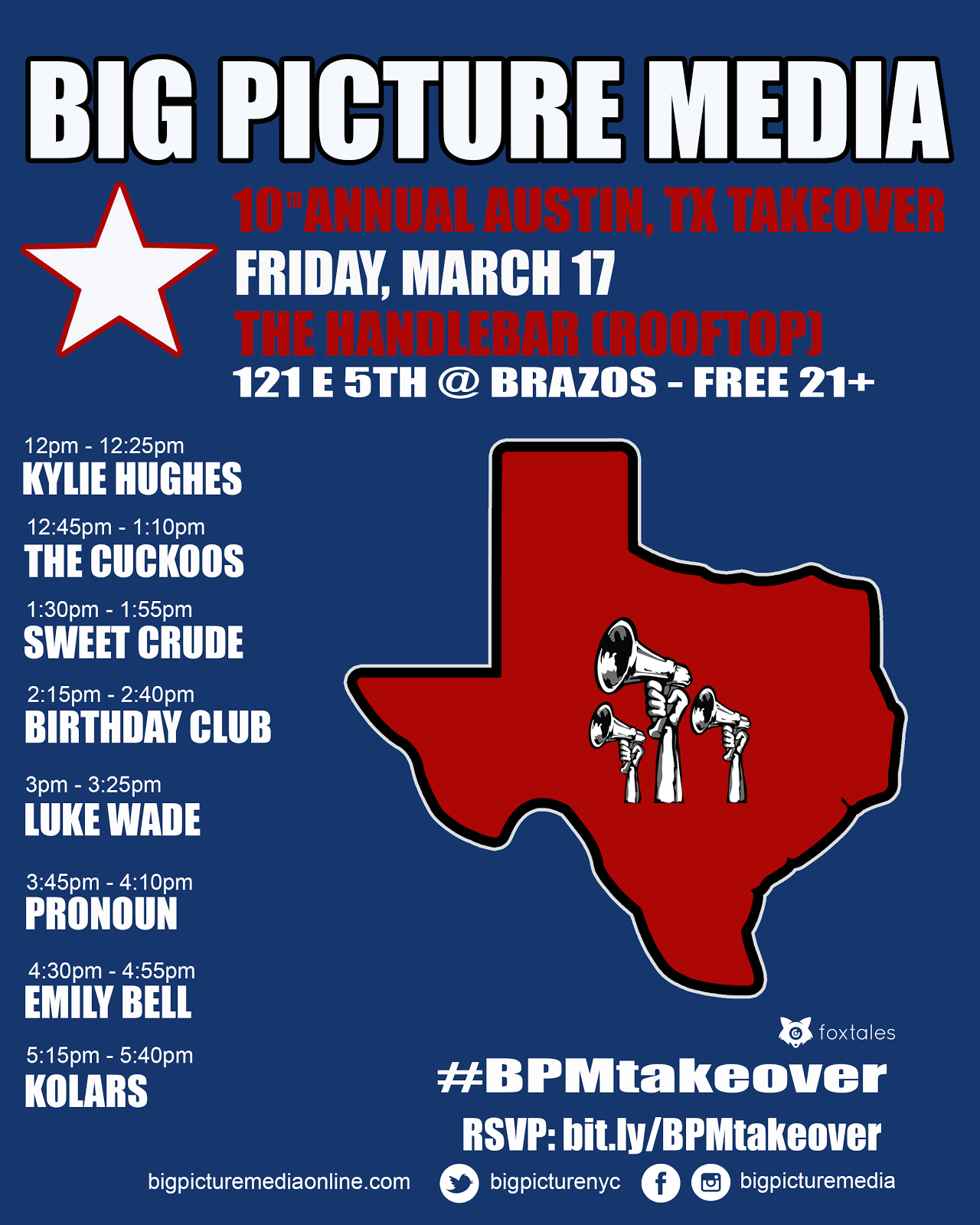 big picture media sxsw 2017 day party announced. Black Bedroom Furniture Sets. Home Design Ideas