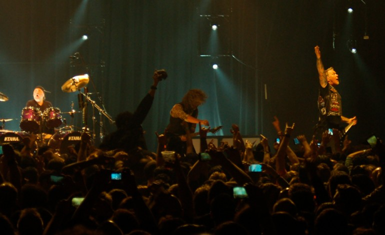 Metallica Rock the Palladium and Announce Headlining Show 7/29 at the Rose Bowl