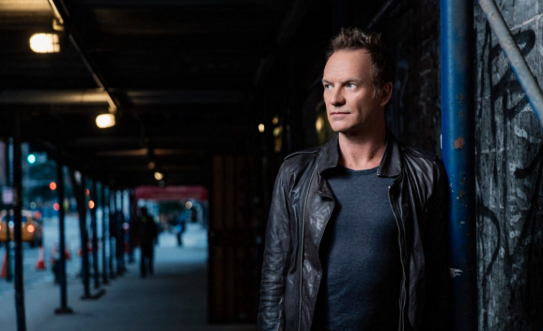 Sting Plays Greats From The Police Catalog Live at the Palladium