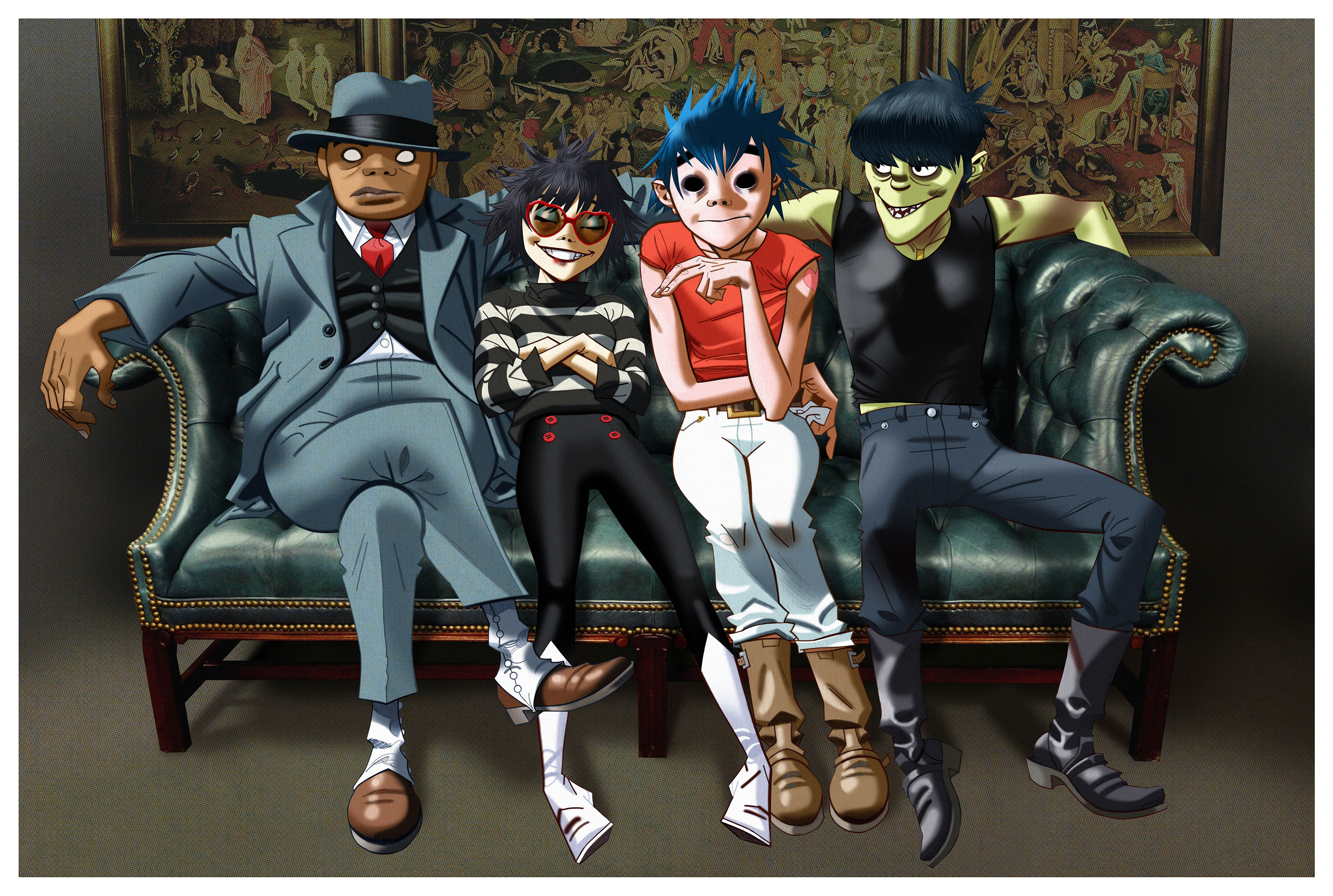 "Gorillaz Return in a Big Way Announcing Guest-Laden New Album Humanz, New Video for ""Saturnz Barz"" and Secret London Show"