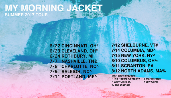 My Morning Jacket Plots 2017 Tour Dates: Ticket Presale Code & On-Sale Info