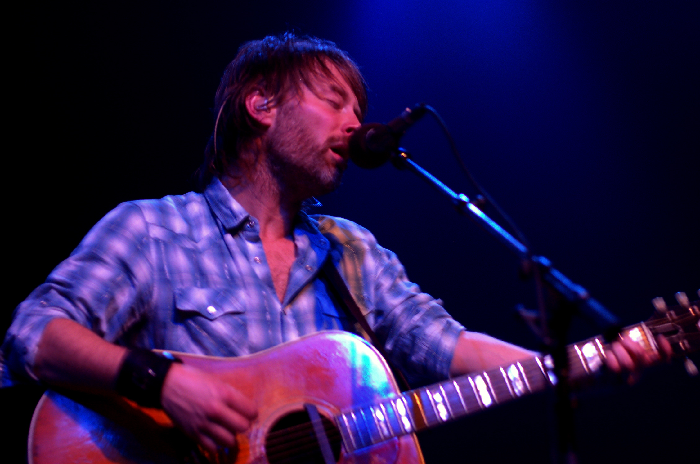 "Thom Yorke Releases New Song ""Hands Off The Antarctic"" to Protect the Southern Ocean"