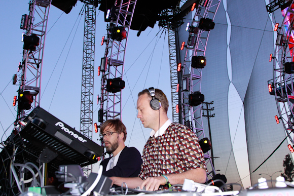Basement Jaxx Lead Funk-Inspired and Mostly Ho-Hum Night at the Hollywood Bowl