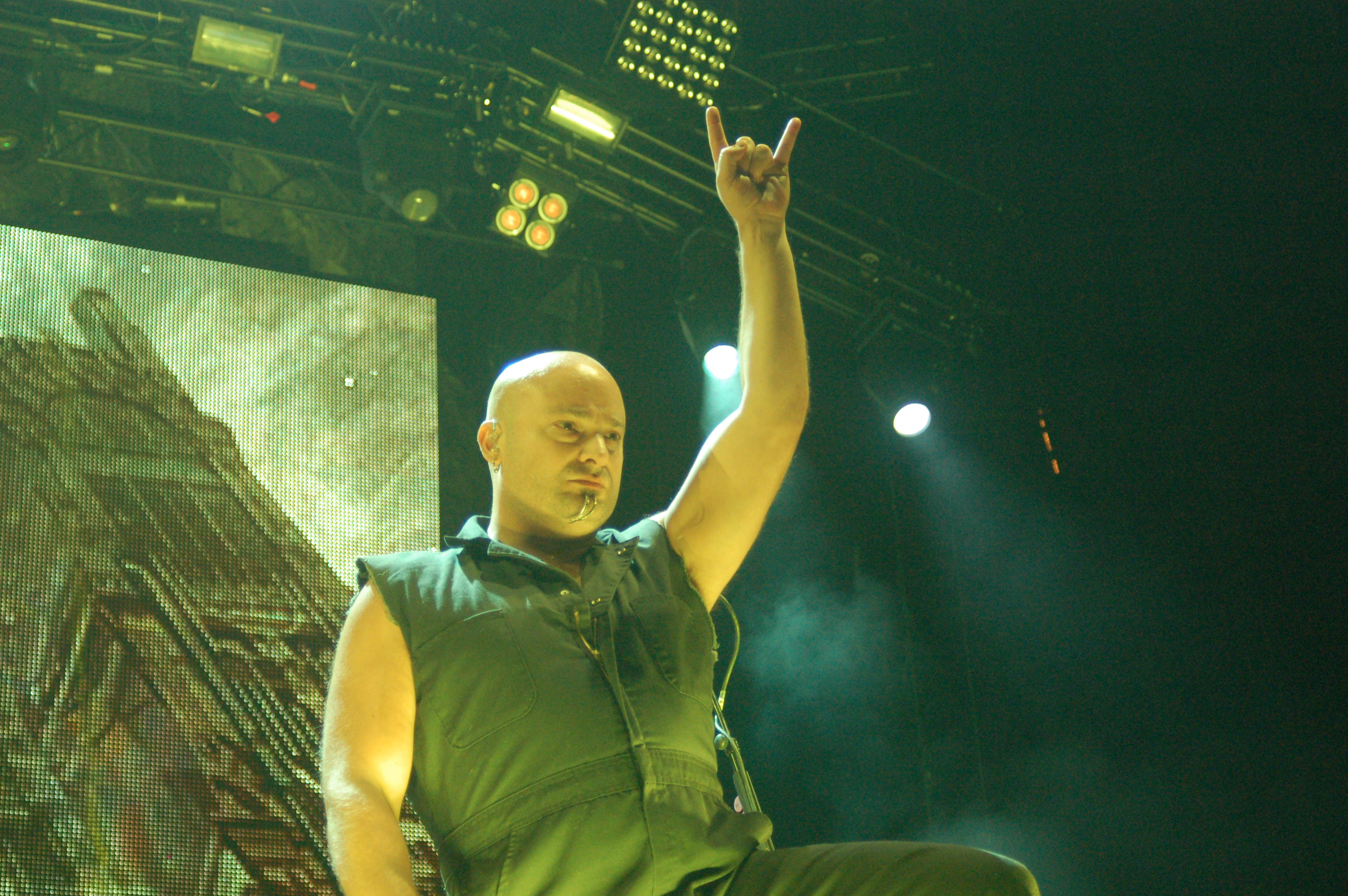 Disturbed with Three Days Grace @ The Forum 1/11