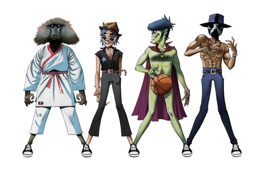 "Gorillaz Share Visual Story ""The Book of 2D"""
