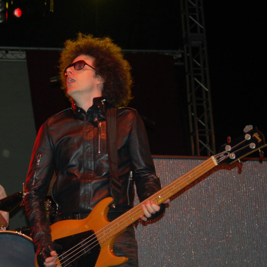 Justin Meldal-Johnsen Live on Stage with Beck in 2006