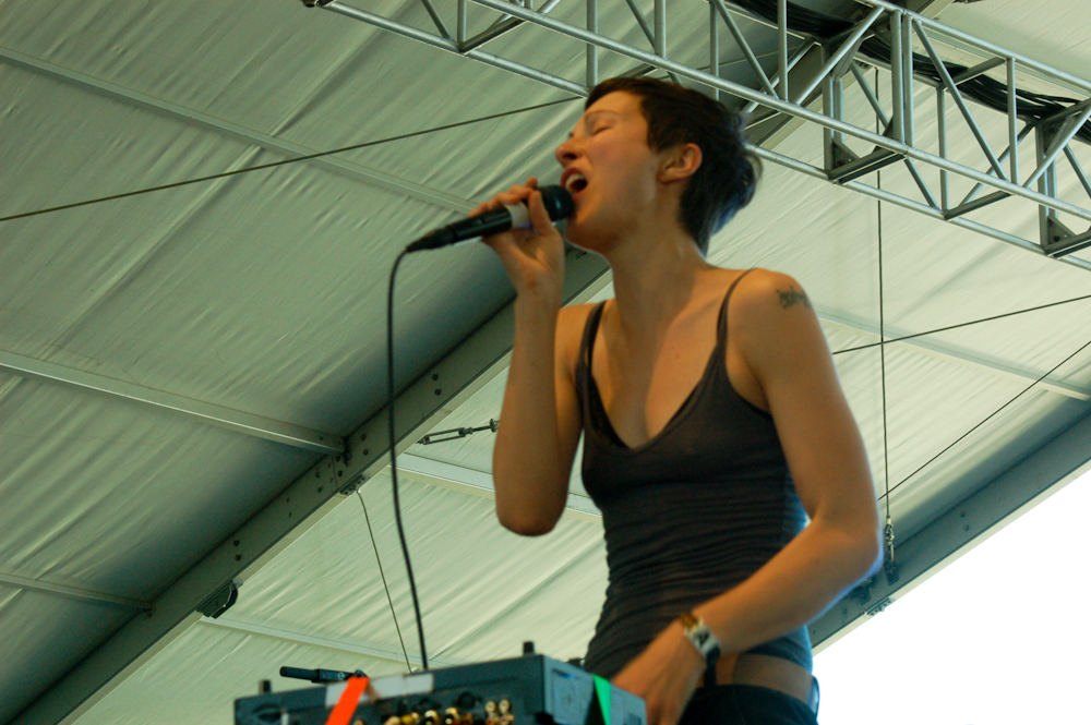 "LISTEN: Poliça and Spank Rock Release New Song ""Still Counts"" from Record Store Day 7"""