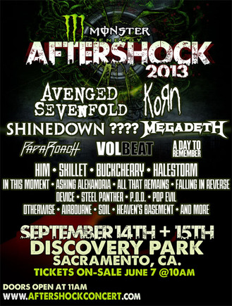 Rockstar Energy Drink Mayhem Festival 2013 Lineup Announced ...