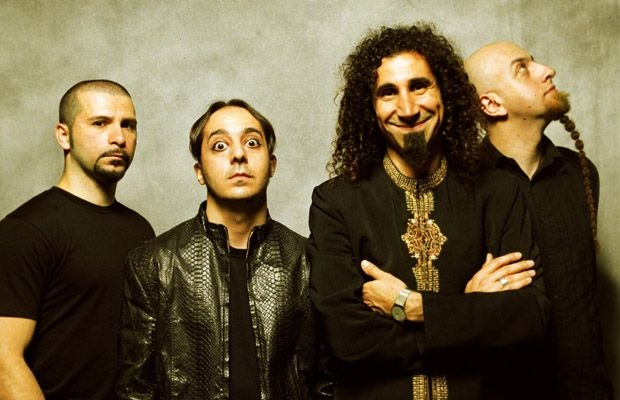 System of a Down Releases Photos Of Band In Studio