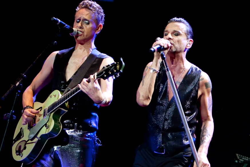 "Depeche Mode Releases Anton Corbijn Directed New Video for ""Cover Me"""