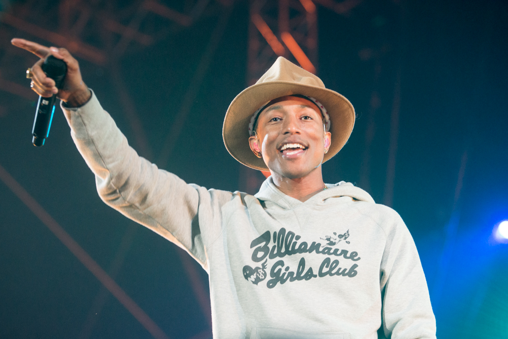 "Pharrell Brings In The Neptunes On New Track ""Letter to My Godfather"""