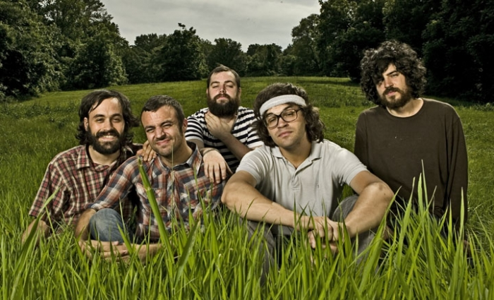 "mewithoutYou Viciously Soundtracks a Disturbing Retro TV Show in New Lyric Video ""Another Head For Hydra"""
