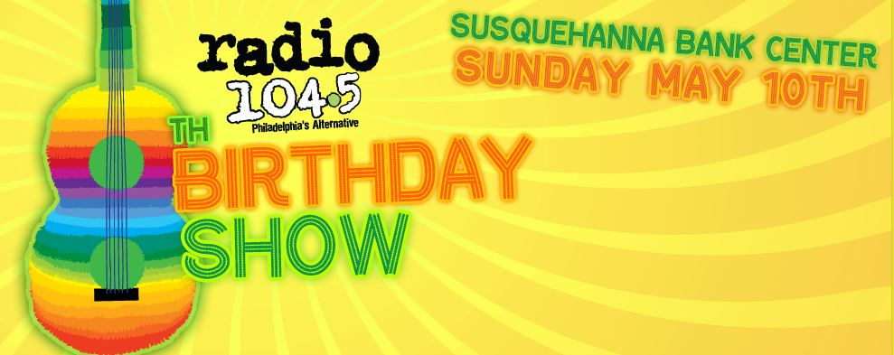 Radio 104.5 8th Birthday Show @ Susquehanna Bank Center 5/10 (with Hozier, Death Cab for Cutie, Passion Pit, Of Monsters and Men, Awolnation, Walk the Moon, and Vance Joy)