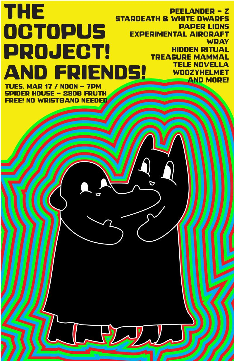 The Octopus Project and Friends SXSW 2015 Day Party Announced