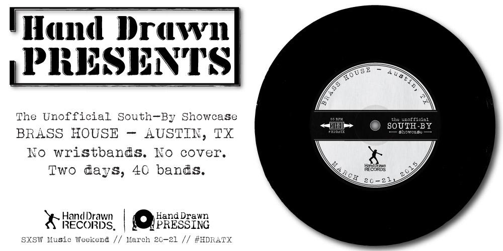 Hand Drawn Records SXSW 2015 Showcase Announced