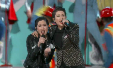 "WATCH: The Lonely Island and Tegan and Sara Perform ""Everything Is Awesome"""