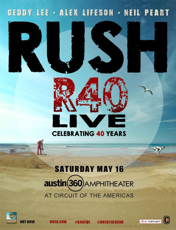 Rush @ Austin360 Ampitheater 5/16