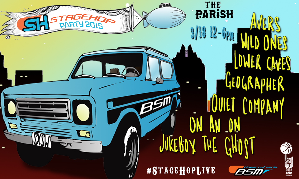 Stage Hop SXSW 2015 Day Party Announced featuring Jukebox the Ghost