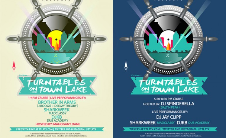 Turntables on Town Lake SXSW 2015 Day Cruise Announced