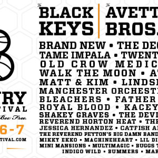 Bunbury Music Festival 2015 Lineup Announced Featuring The