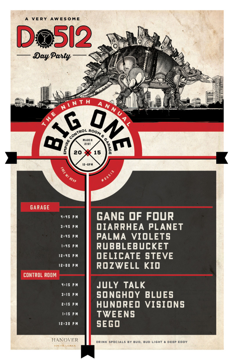 Do512 The Big One SXSW 2015