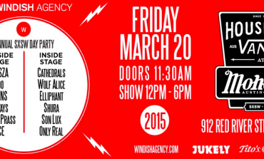 Windish & House of Vans SXSW 2015 Day Party Announced ft. BORNS, Wolf Alice