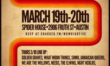 Wow! High Five! SXSW 2015 Showcase Announced