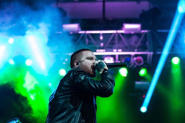 Stunning lights for Memphis May Fire