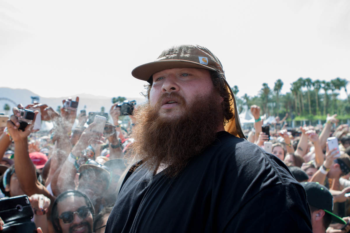 Action Bronson gave the Main Stage crowd plenty of love.
