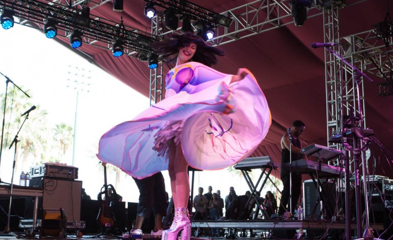 Kimbra Live at the Ace Hotel Theater, Los Angeles