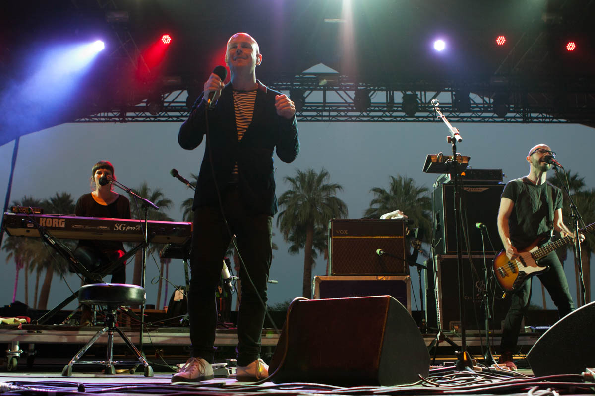 It isn't Philip Selway's first time performing at Coachella.