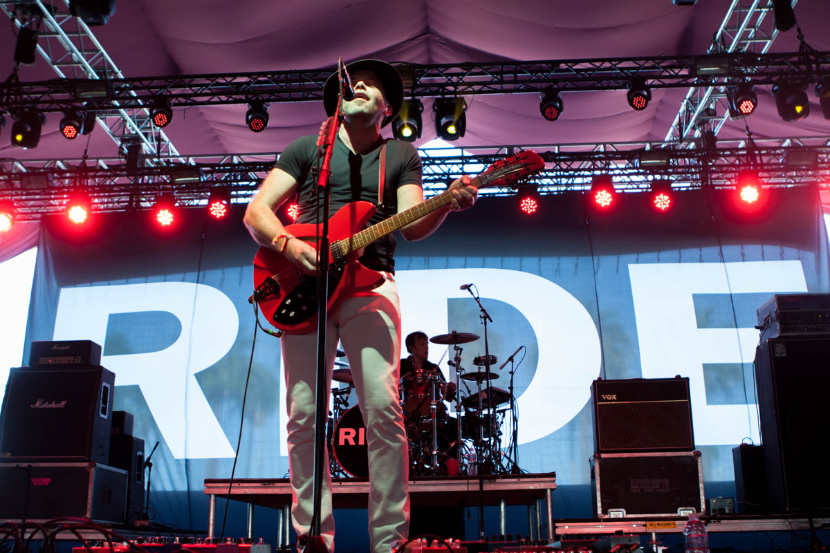 Ride had everyone swooning in the Gobi Tent.