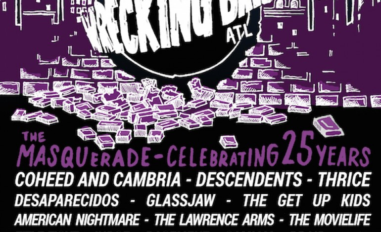 Wrecking Ball 2015 Festival Lineup Announced Featuring Coheed And Cambria, Girlpool And Descendents