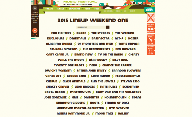 Is This The 2015 Lineup For The Austin City Limits Festival? Officials Confirm It Is
