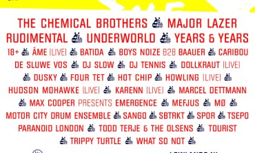 Lowlands 2015 Lineup Announced Featuring The Chemical Brothers, Major Lazer And Hot Chip