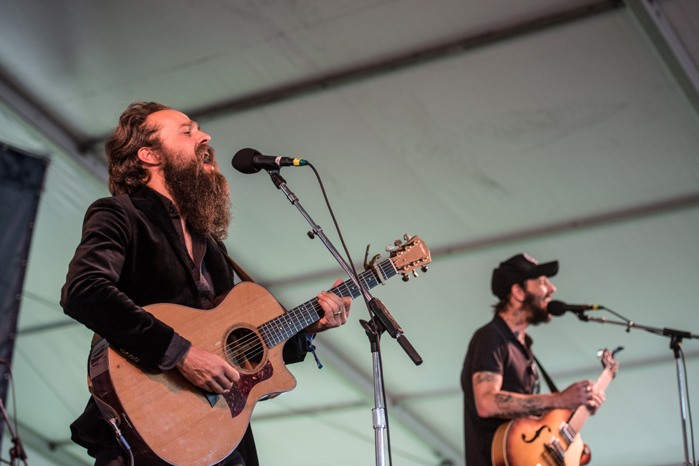 Newport Folk Festival-SA-Iron & Wine and Ben Bridwell-072415-1