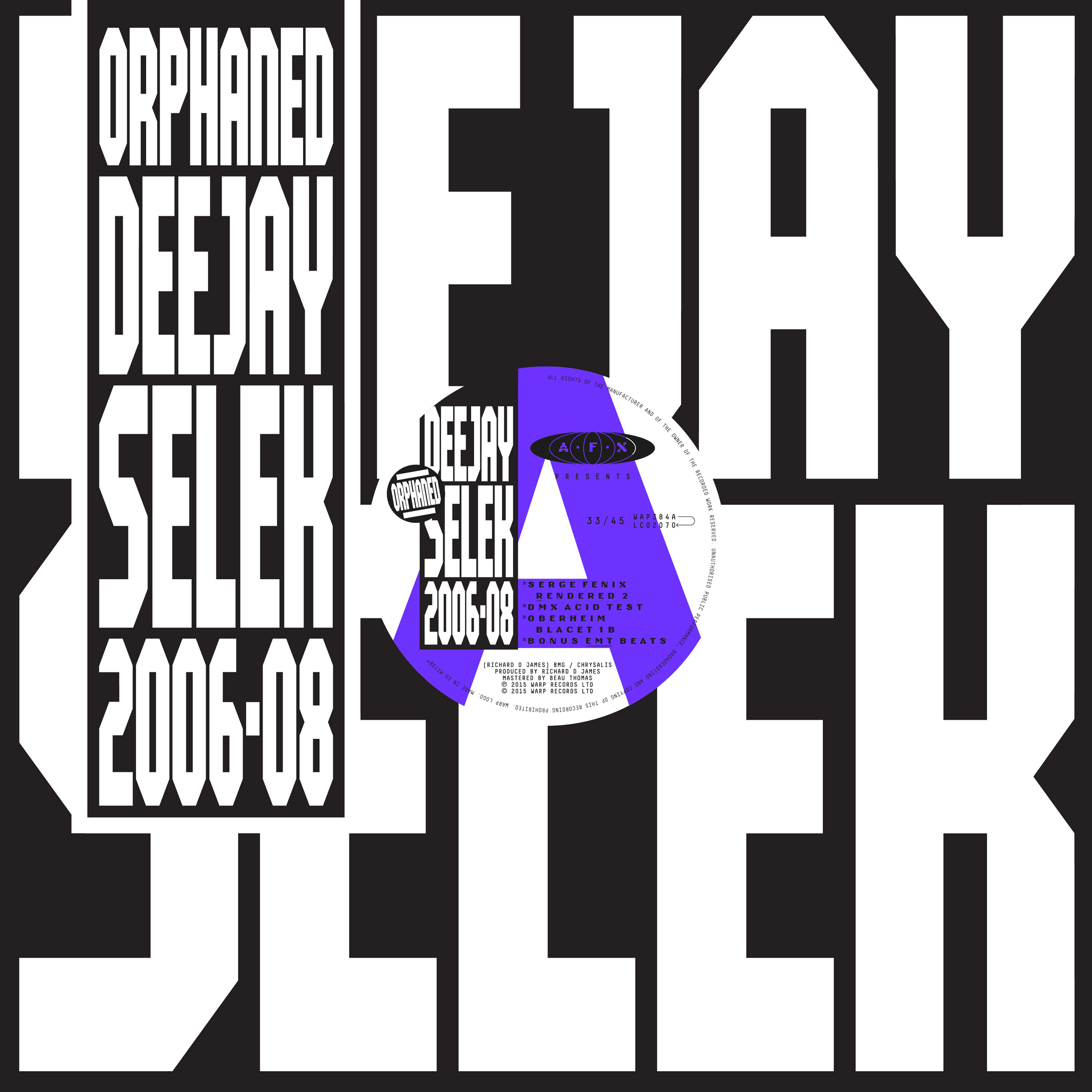 AFX (AKA Aphex Twin) Announces New Album Orphaned Deejay