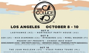 Culture Collide Festival Announces 2015 Lineup Including Ladyhawke, Mynabirds, and The Juan MacLean