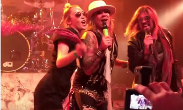 WATCH: Miley Cyrus Performs Def Leppard Cover with Steel Panther