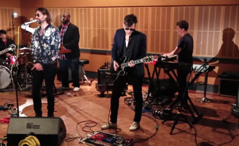 WATCH: Mark Ronson And Tame Impala's Kevin Parker Cover Queens Of The Stone Age
