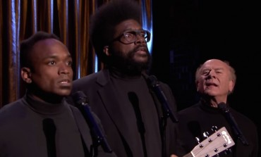"WATCH: The Roots Perform The Weeknd's ""Can't Feel My Face"" with Art Garfunkel as Black Simon & Garfunkel"