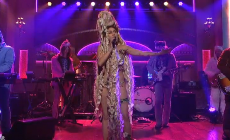 "WATCH: Miley Cyrus And The Flaming Lips Perform ""Karen Don't Be Sad"" And ""The Twinkle Song"""